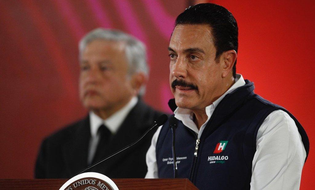 Omar Fayad gobernador de Hidalgo da positivo a Covid-19