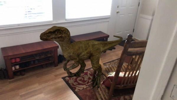 Descubre como tener dinosaurios 3D en tu sala