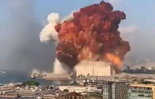 VIDEO:  Explosión sacude a Beirut, reportan heridos y daños