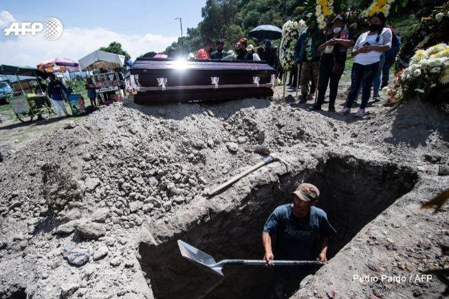 En México el número de muertos por Covid supera los 50 mil