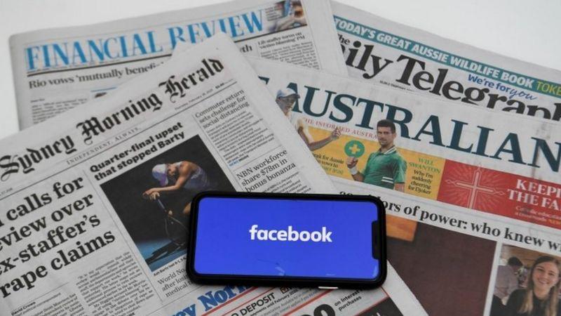 Apagón informativo en Australia por disputa de Facebook y medios de comunicación