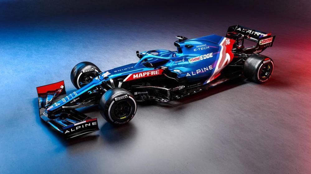 Regresa el equipo Alpine a la Fórmula 1 y así luce su monoplaza