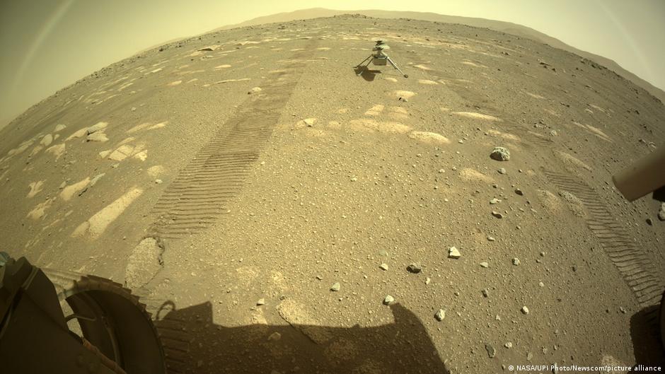 ¿Un arcoíris marciano? La NASA explica la foto captada por Perseverance en Marte