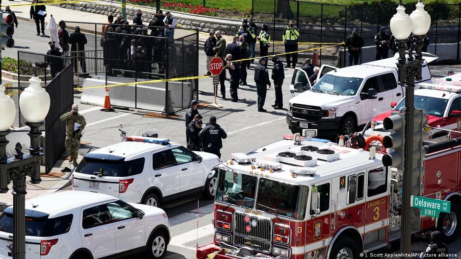 Ataque en el Capitolio de Estados Unidos, hay dos muertos