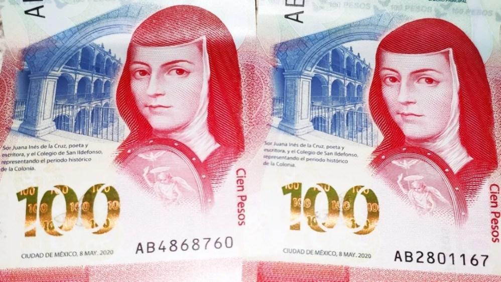 El nuevo billete mexicano de 100 pesos es reconocido mundialmente como el mejor del 2020