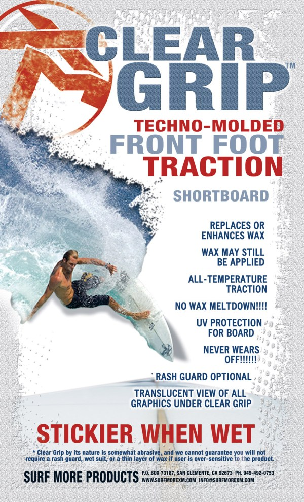 Clear Grip Techno-Molded Traction