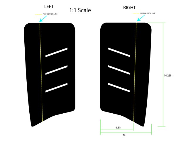 Pro Pad XL middle Size/Dimensions