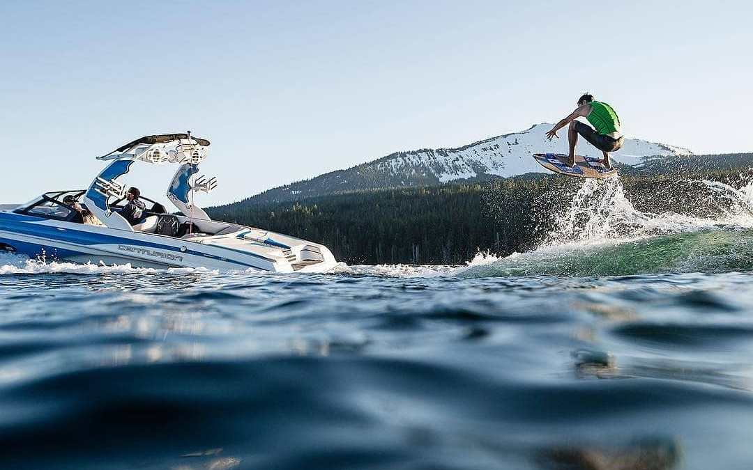 Build the best wake for launching the ultimate air or to surf.
