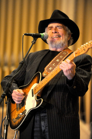 Merle Haggard performs at Pease Auditorium on Eastern Michigan University's campus on July 17, 2010. Angela J. Cesere | AnnArbor.com