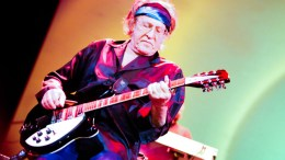 Mandatory Credit: Photo by REX/Shutterstock (2226391af)Jefferson Starship - Paul KantnerJefferson Starship in concert at The Howard Theatre, Washington, D.C., America - 21 Mar 2013
