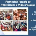 02 de Junio – Formación Terapia de Regresiones a Vidas Pasadas