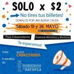 19 de Mayo – Sólo x 2 Pesos – Doná los billetes que tengas en casa!