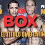 09 de Junio – Boxeo por el título OMB Latino
