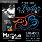 23 de Junio – Taller de danzas folkloricas tradicionales