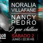 """02 de Junio – Noralia Villafañe y Nancy Pedro – """"2 que chillan"""""""