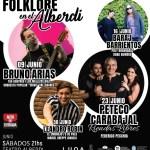 16 de Junio – Folklore en el Alberdi