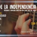 08 de Julio – 1º Peña de la Independencia