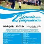 08 de Julio – 2da Serenata de la Independencia