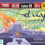 09 de Julio – El Viaje en el Teatro Mercedes Sosa Entrada Libre