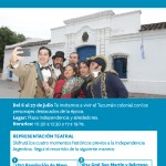06 al 27 de Julio – Tucumán – Historias de la Independencia