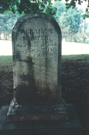 Abraham Mumper, 1786-1866