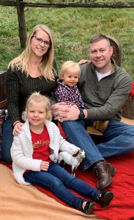 Mellinger Family Photo on grass