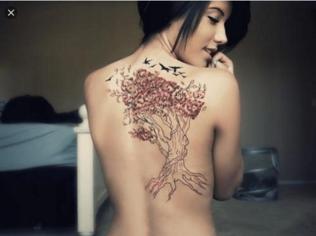 Tato yakuza jepang 3 dimensi untuk wanita keren