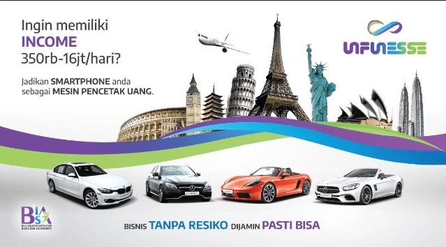 Bonus Bisnis Infinesse Indonesia
