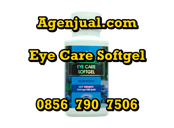 Agen Eye Care Softgel Medan | 0856-790-7506