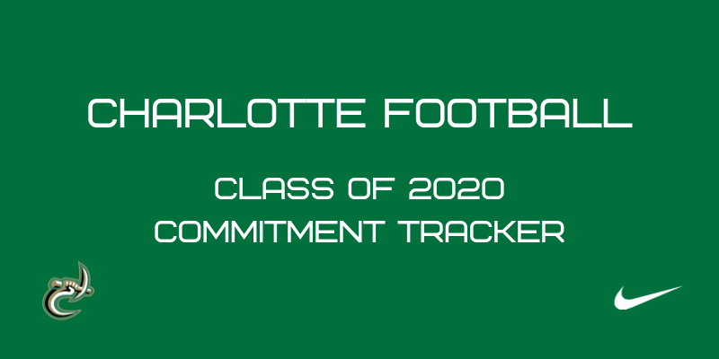 Charlotte 49ers Football 2020 Commitment Tracker