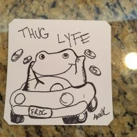 I drew Dank Art to trade for DP