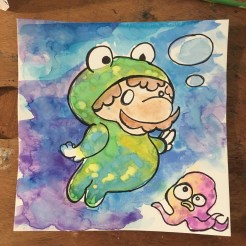 Froggy Suit