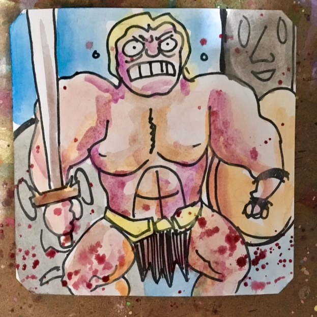 Elevator is obviously busted in Magic Sword @LordBBH