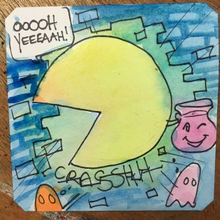 Pac Man is Koolaid Man in Super Pac Man @LordBBH