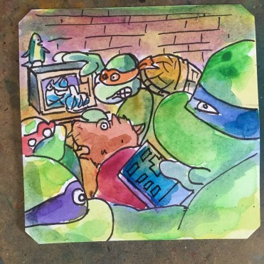 There's never anything good on the Turtles TV @Macaw45