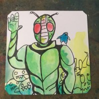 Will you A:RUN B:FIGHT C: RESET THE GAME Masked Rider Sega CD @Macaw45