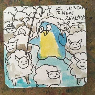 Dank German Sheep game for the Amiga called The Shepard @Macaw45