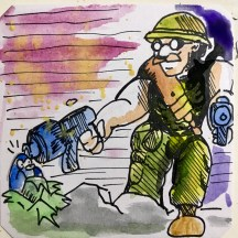 Juggle Warfare (Amstrad) @Macaw45