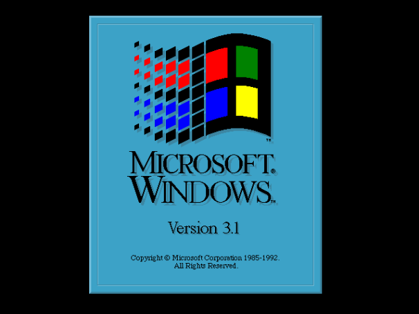 Windows31 Following classic gaming