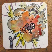 Mr Big meets his doom in NARC during @LordBBH run at
