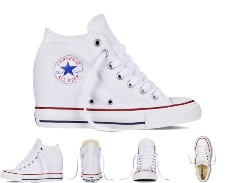 Chuck Taylor All Star Lux branco