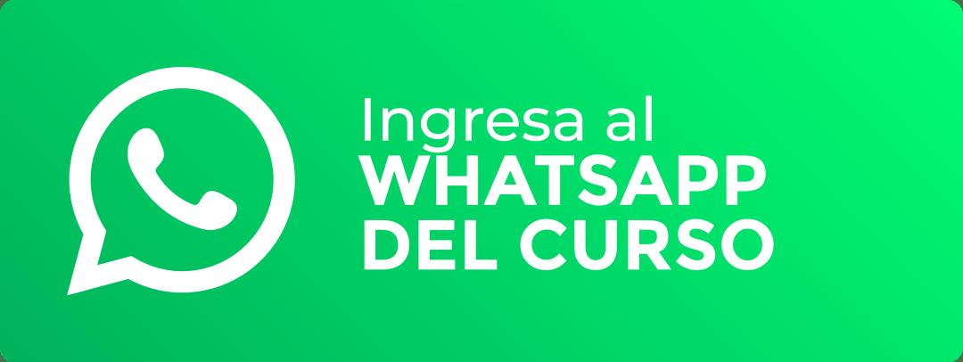 Botón Grupo Oficial de Whatsapp Curso Gratis GP