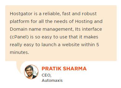 HostGatorTestimonial2 - HostGator Web Hosting Review