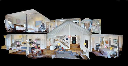 VR Tour Dollhouse View