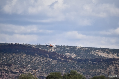 Search and rescue on Navajo Nation