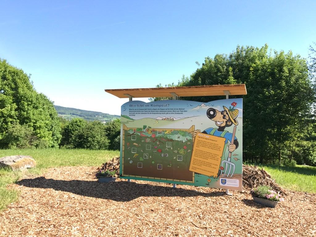 Kindererlebniswelt - Erlebnisdeponie - Wer lebt im Kompost