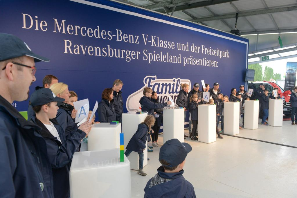 Event, Mercedes-Benz,  Family of the Year, Agentur Ravensburger