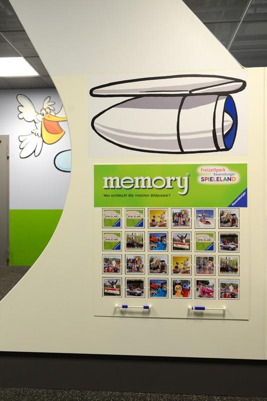 Kinderspielbereiche - Spielecke für Handel und Shoppingcenter - memory® Flughafen Stuttgart