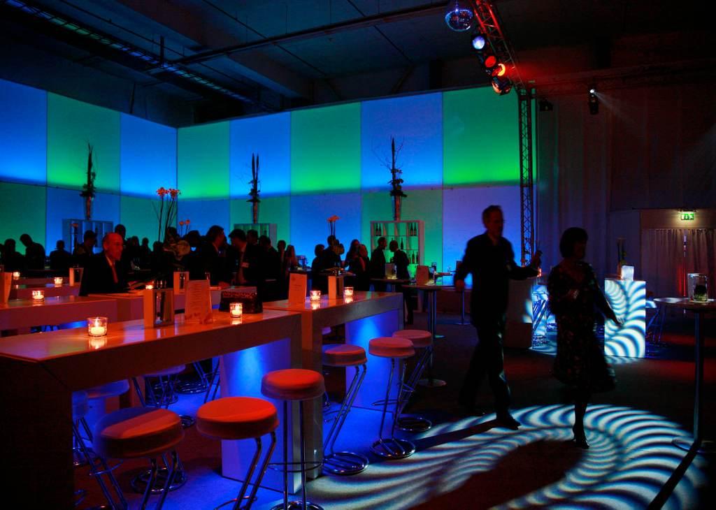 Events, Gala, Veranstaltung,  Ravensburger, Agentur Ravensburger, Lichtinstallation,
