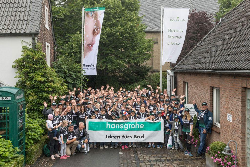 Events, Veranstaltungen, Hansgrohe, I-Club, Familienfest, Incentive, I-Club Mitglieder, Düsseldorf, Tour de France, Bora Team, Agentur Ravensburger